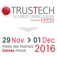 Visit us at TRUSTECH in Cannes