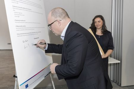 By signing a Diversity Charter, CETIS promotes the values of inclusion and equality