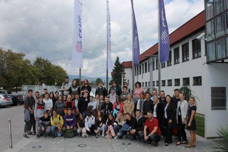 Obiskali so nas dijaki Srednje medijske in grafične šole Ljubljana
